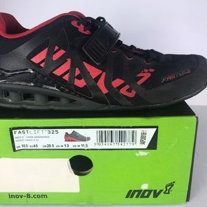 inov-8 Fastlift 325 Weight Lifting Shoes Men 11.5